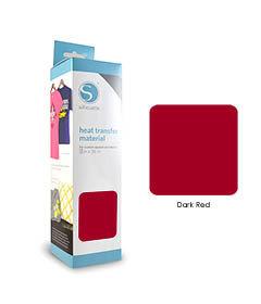 Rouge Foncé - Flex Transfert Textile SILHOUETTE