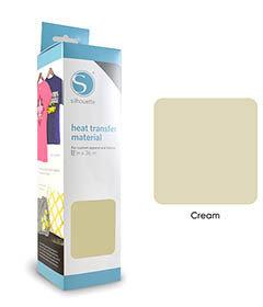 Crème - Flex Transfert Textile SILHOUETTE
