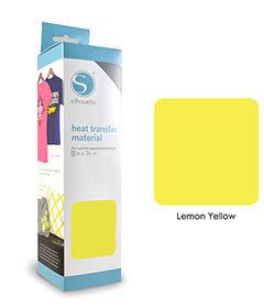 Jaune Citron - Flex Transfert Textile SILHOUETTE