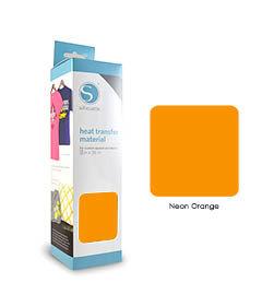 Orange Fluo - Flex Transfert Textile SILHOUETTE