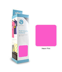 Rose Fluo - Flex Transfert Textile SILHOUETTE