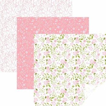 Vinyle - Echantillonneur en Fleur Rose CRICUT
