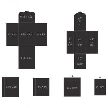 Pocket and Flipfold Inserts E - Black