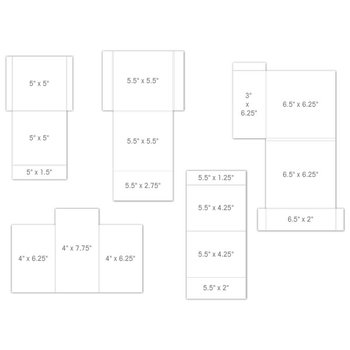 Pocket and Flipfold Inserts C - White