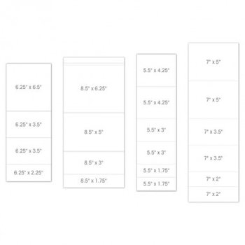Pocket and Flipfold Inserts B - White