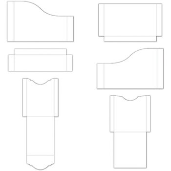 Pocket and Flipfold Inserts A - White