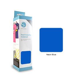 Bleu Fluo - Flex Transfert Textile SILHOUETTE