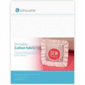 Tissu Coton Imprimable SILHOUETTE