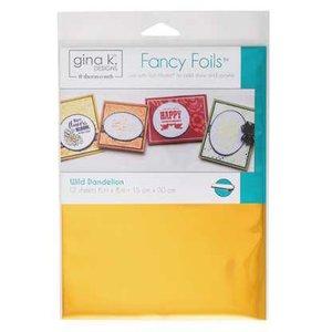 Wild Dandelion - Gina K. Designs Fancy Foils