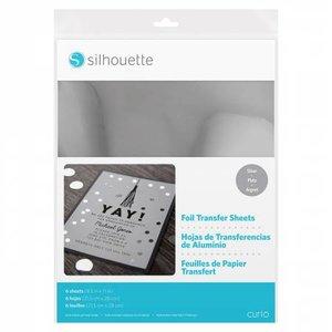 Foil Papier de Transfert - Argent SILHOUETTE