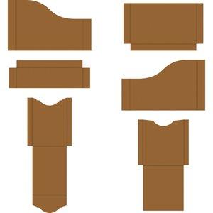 Pocket and Flipfold Inserts A - Kraft